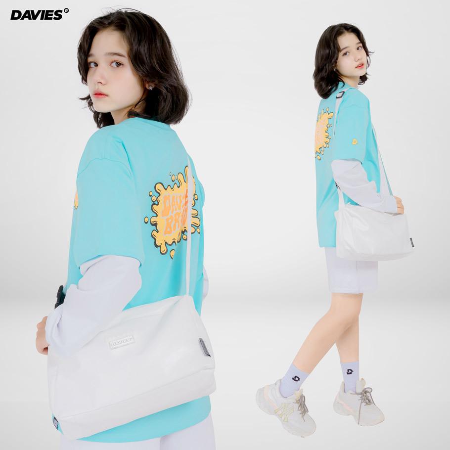 DSW Leather Over Shoulder Bag-White