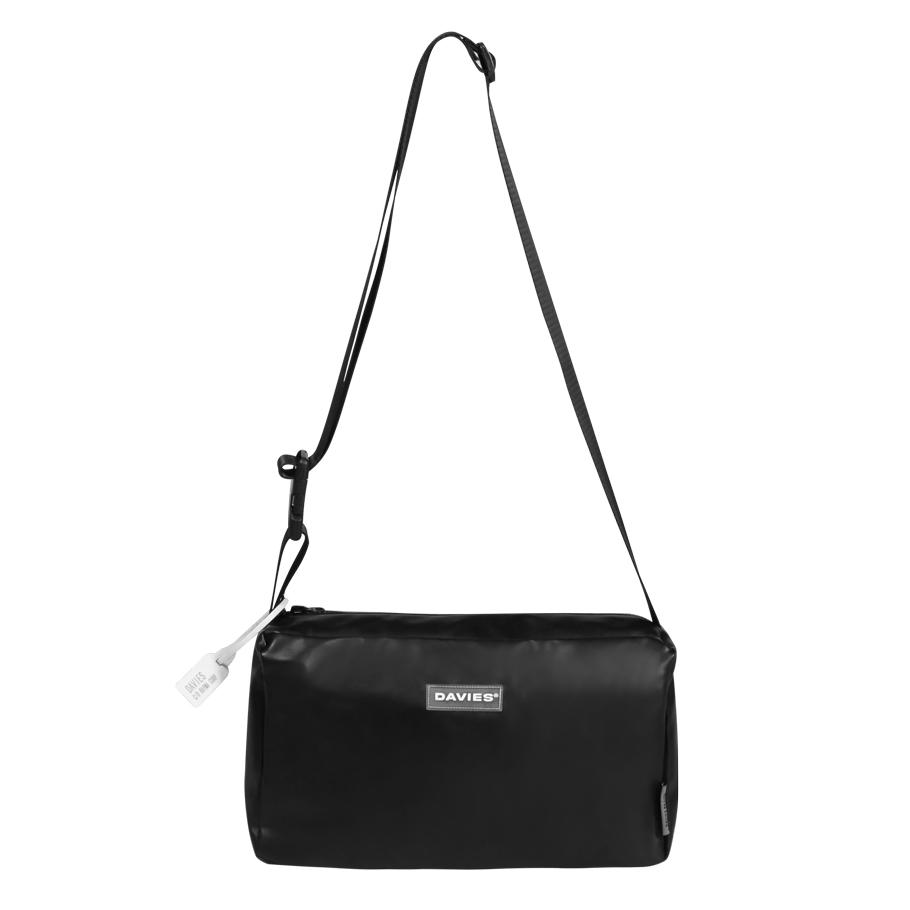 DSW Leather Over Shoulder Bag-Black
