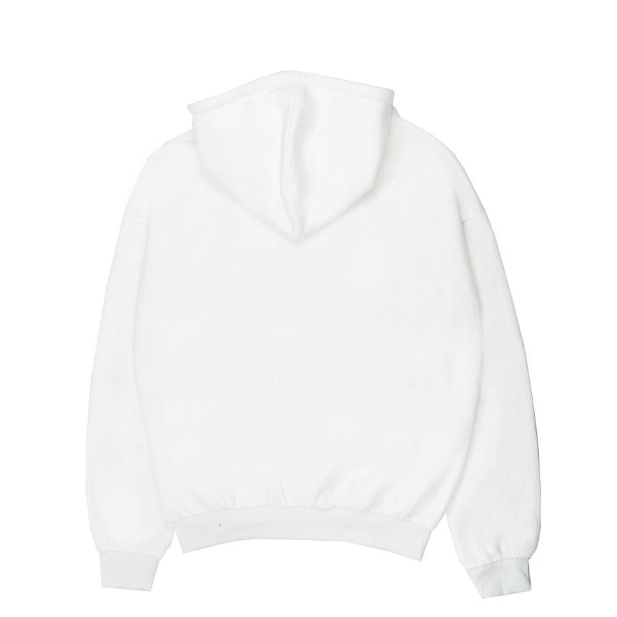 DSS Hoodie Zipper-White
