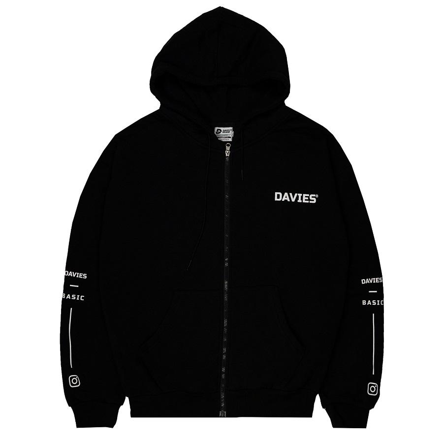 DSS Hoodie Zipper-Black