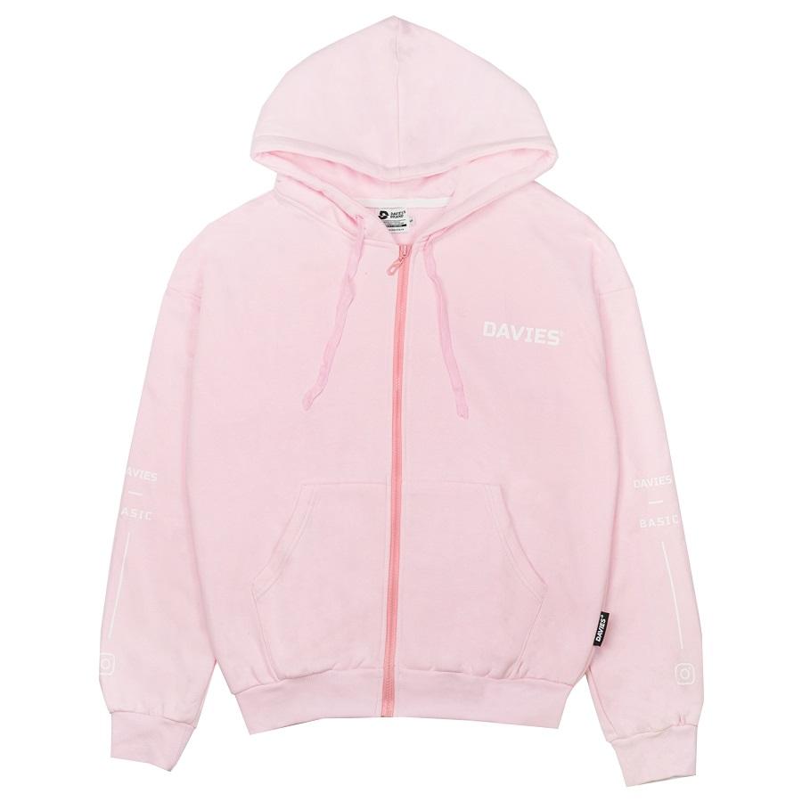 DSS Hoodie Zipper-Pink