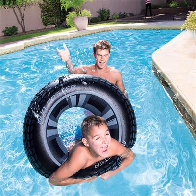 Phao bơi hình bánh xe tròn 91cm- Bestway 36016
