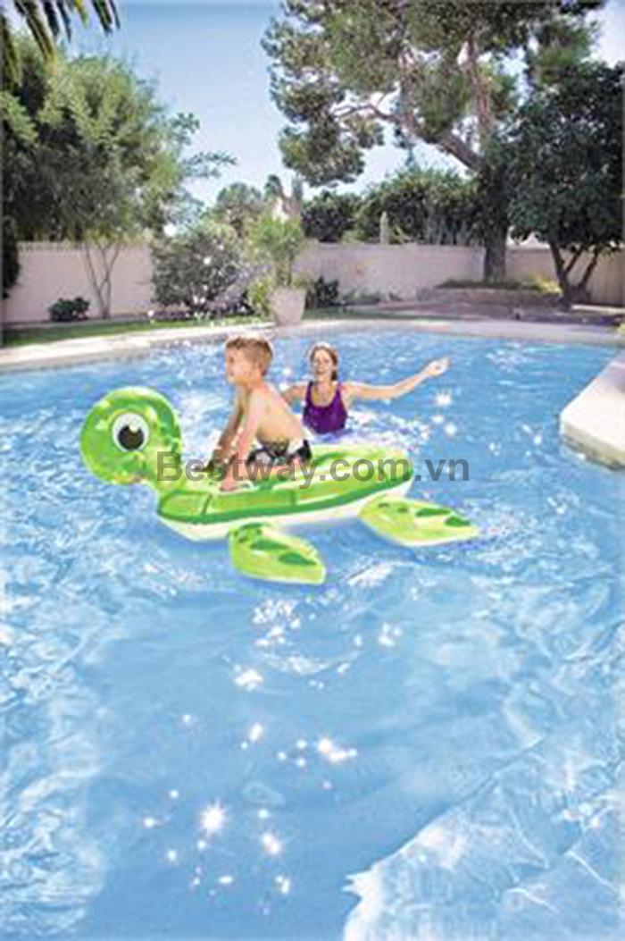 Phao bơi rùa biển xanh lá - 41041
