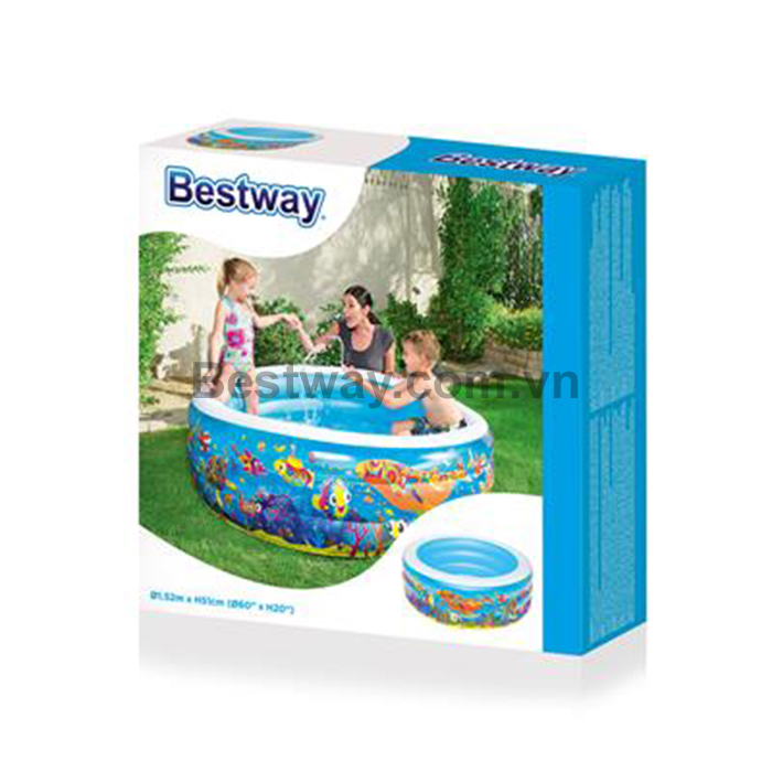 Bể phao cho bé - Bestway 51121