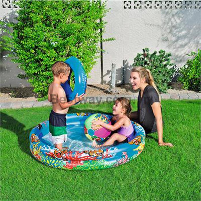 Bộ sản phẩm bể phao, vòng bơi, bóng - 51124
