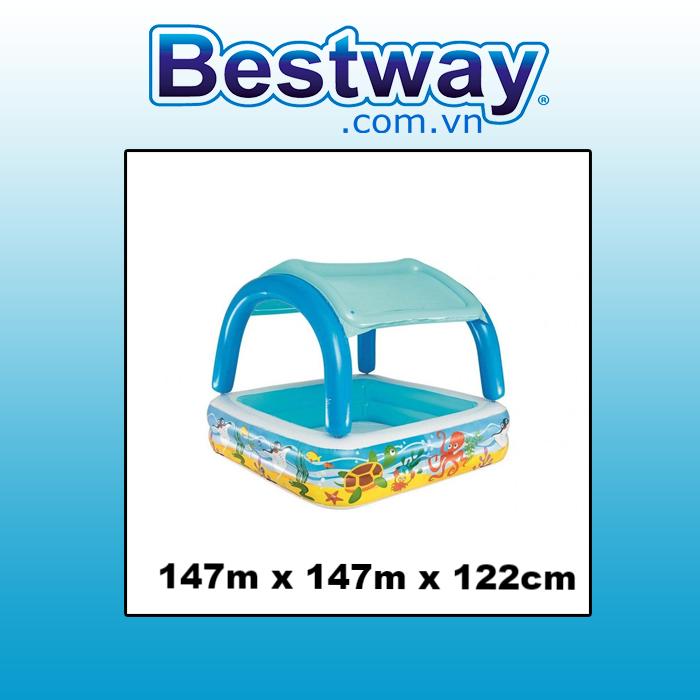Bể phao Canopy Bestway 52192 (tặng bơm)