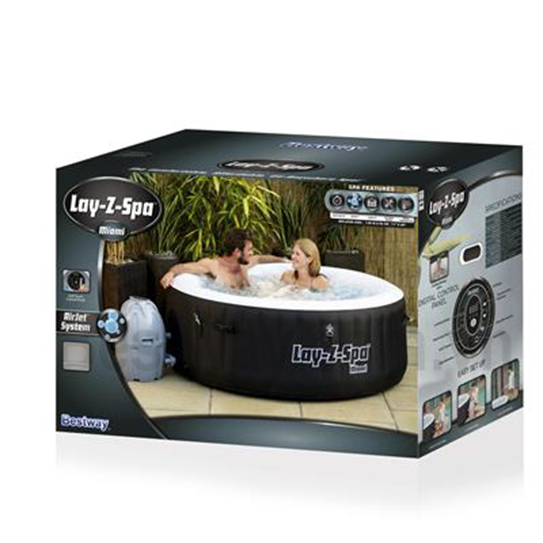 BỂ Massage Bestway Lay Z SPA 54123