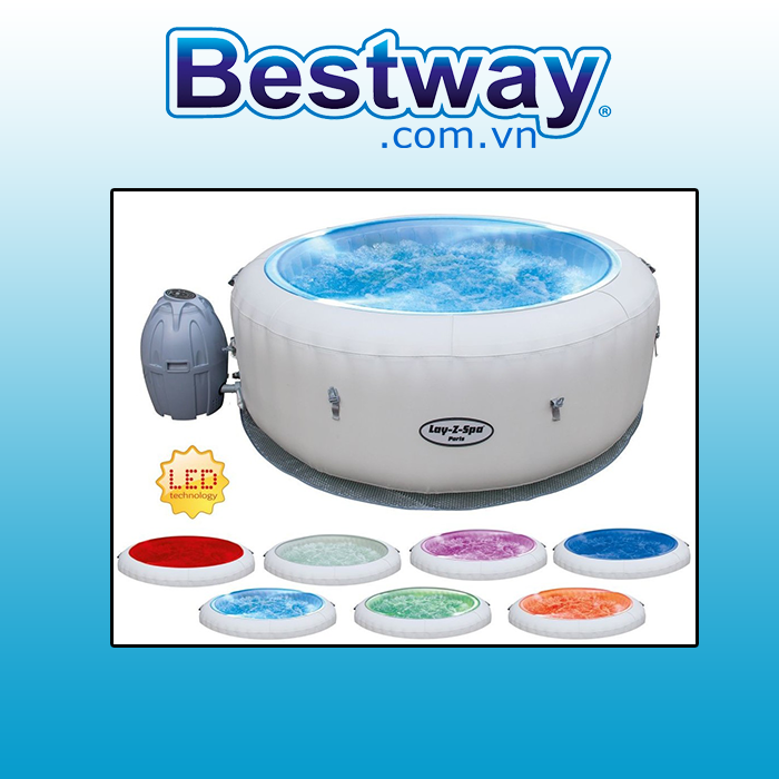 BỂ MASSAGE BESTWAY LAY Z SPA 54148