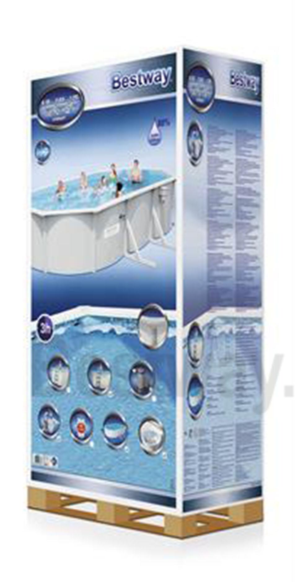 Bể bơi khung kim loại Bestway 56369