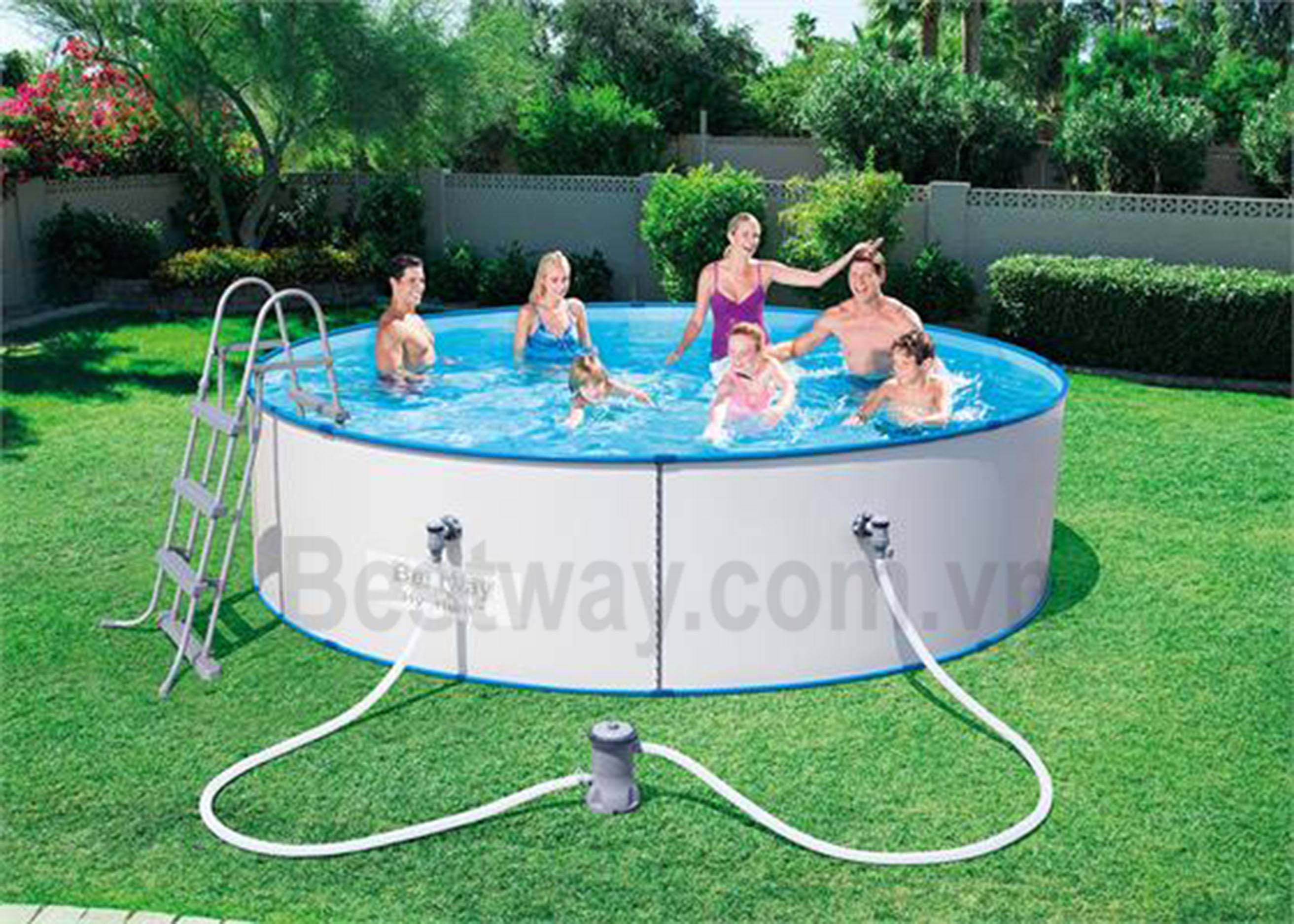 Bể bơi tròn ngoài trời Bestway 56377