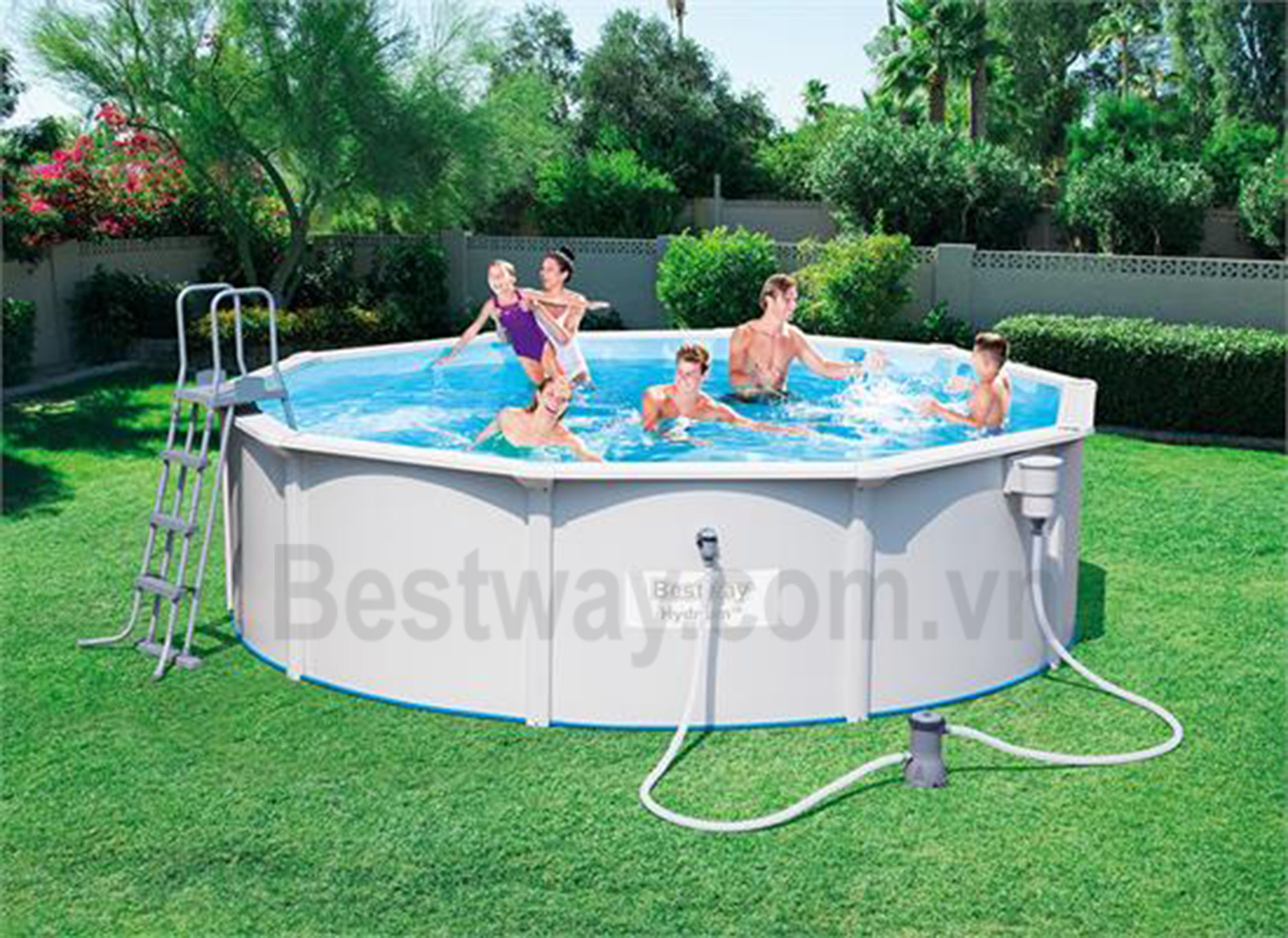 Bể bơi khung kim loại 56382