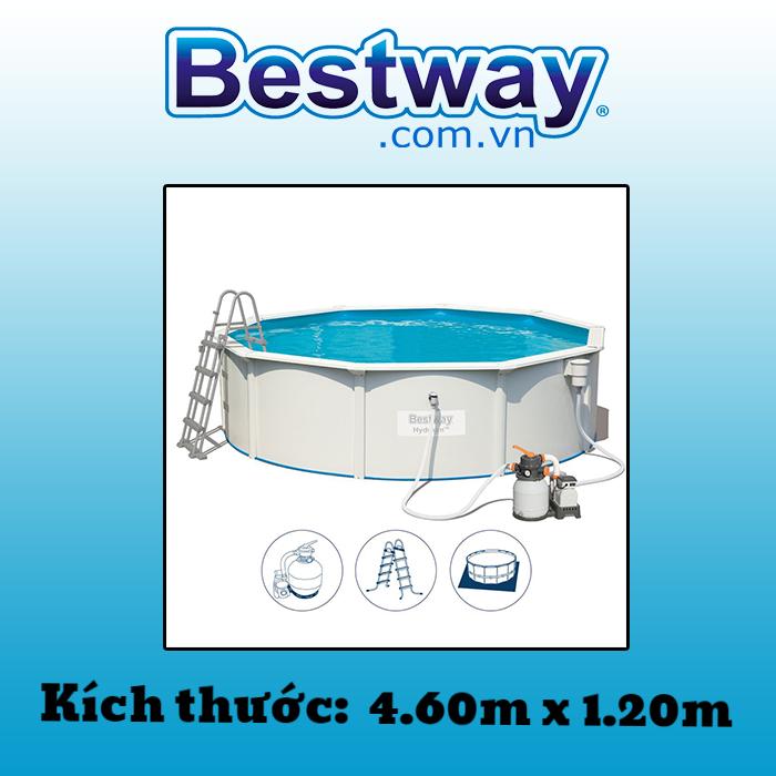 Bể bơi khung kim loại 56384