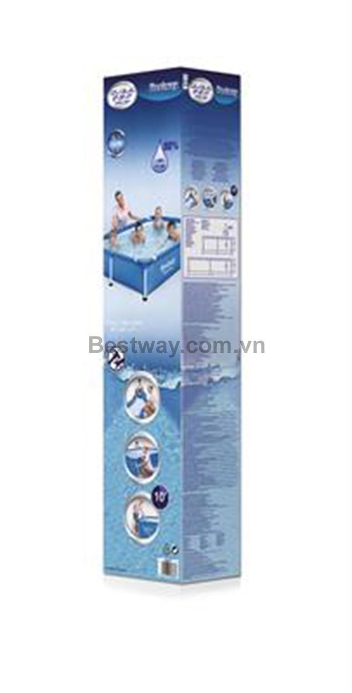 Bể bơi bestway 56401 kích thước 221cm x 150cm x 43cm
