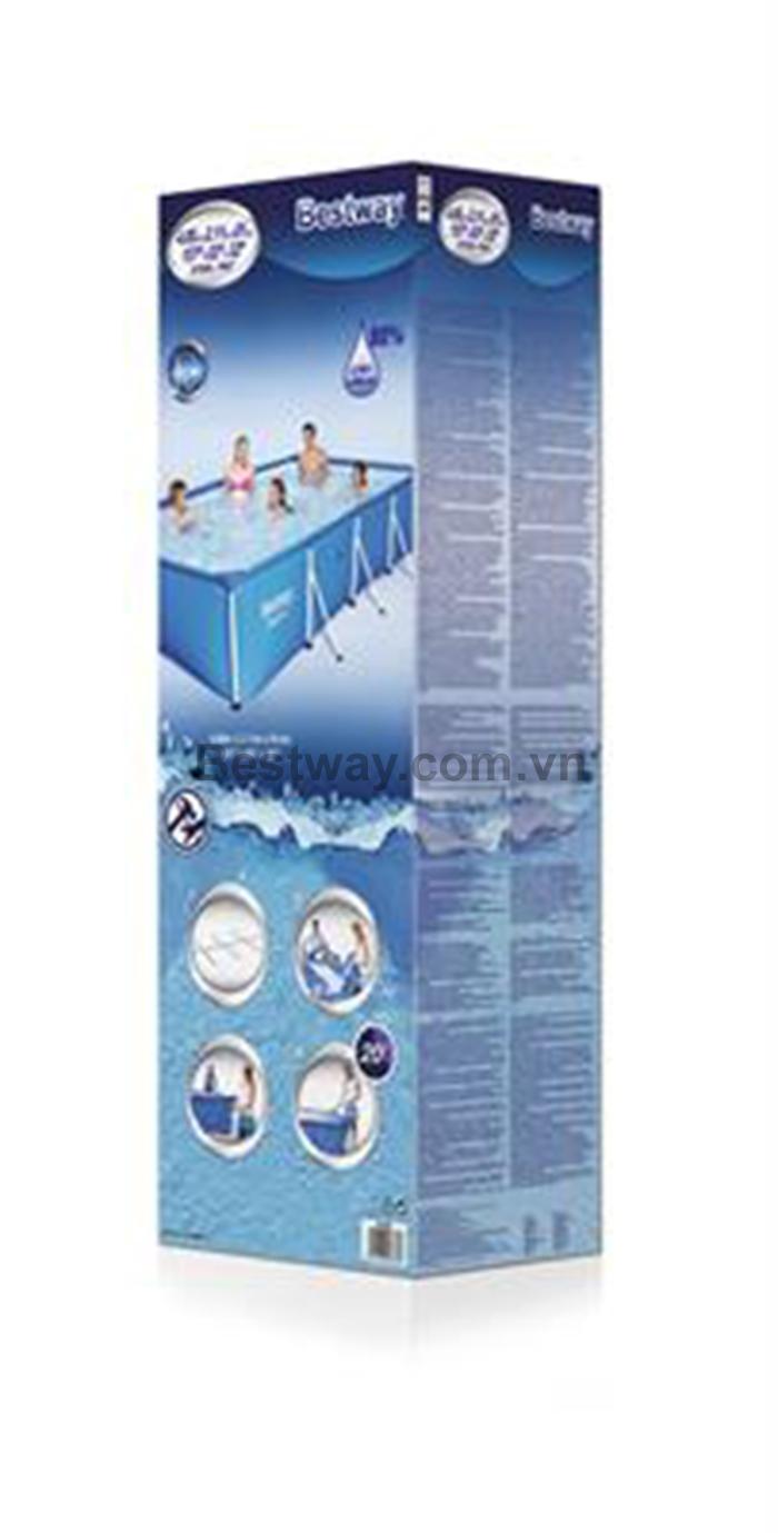Bể bơi 56405 kích thước 4.00m x 2.11m x 81cm