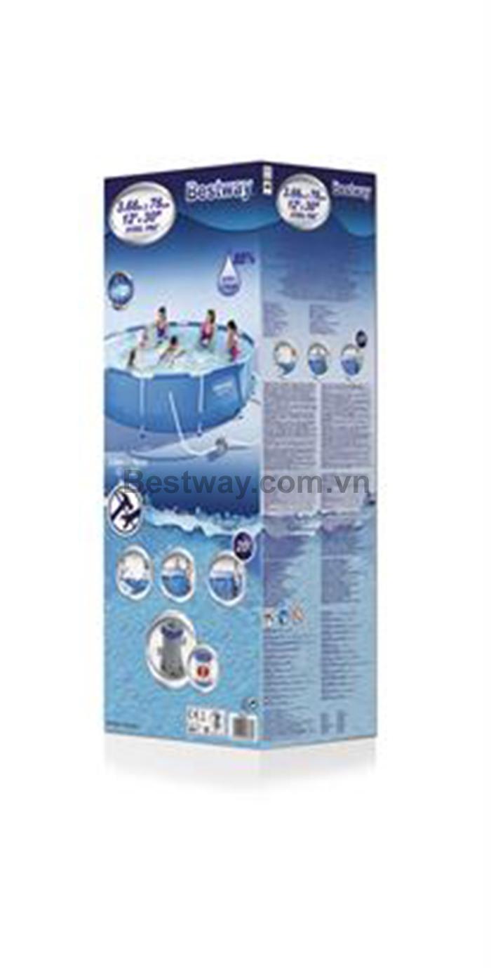 Bể bơi tròn 3.66m x 76cm 56416