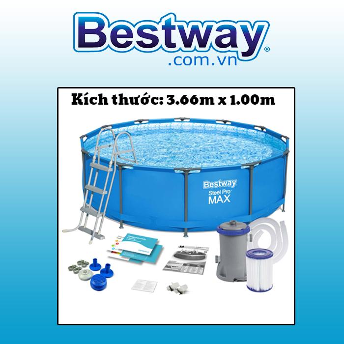 Bể bơi khung kim loại 56418