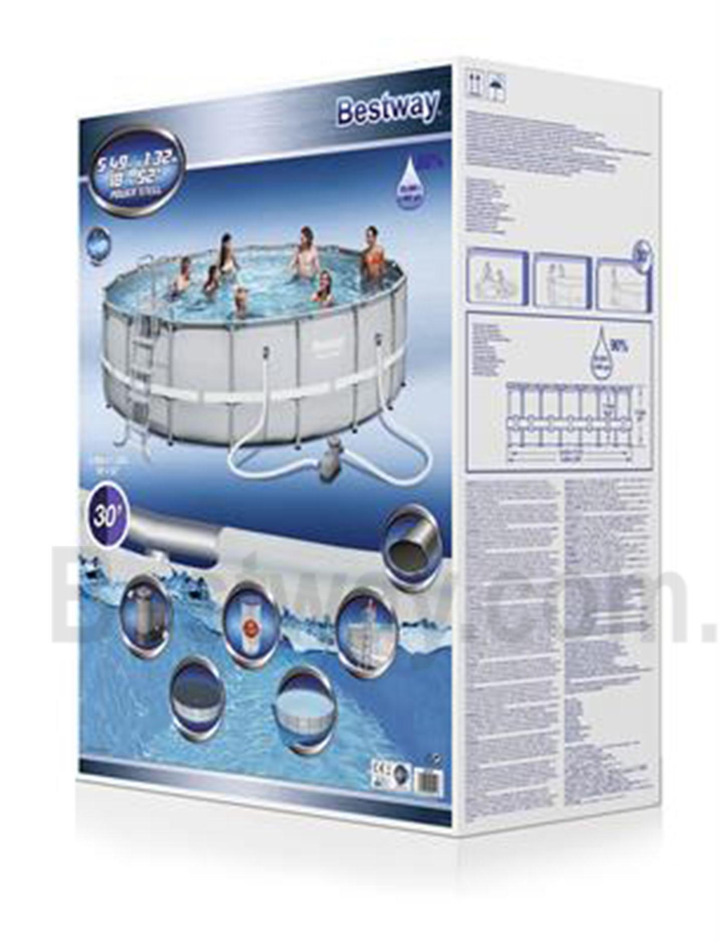 Bể bơi khung kim loại Bestway 56427