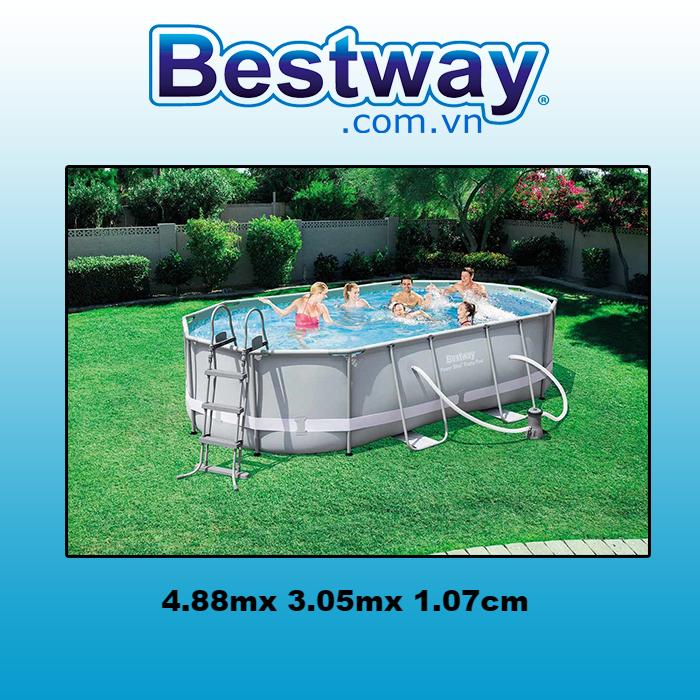 Bể bơi khung kim loại 56448
