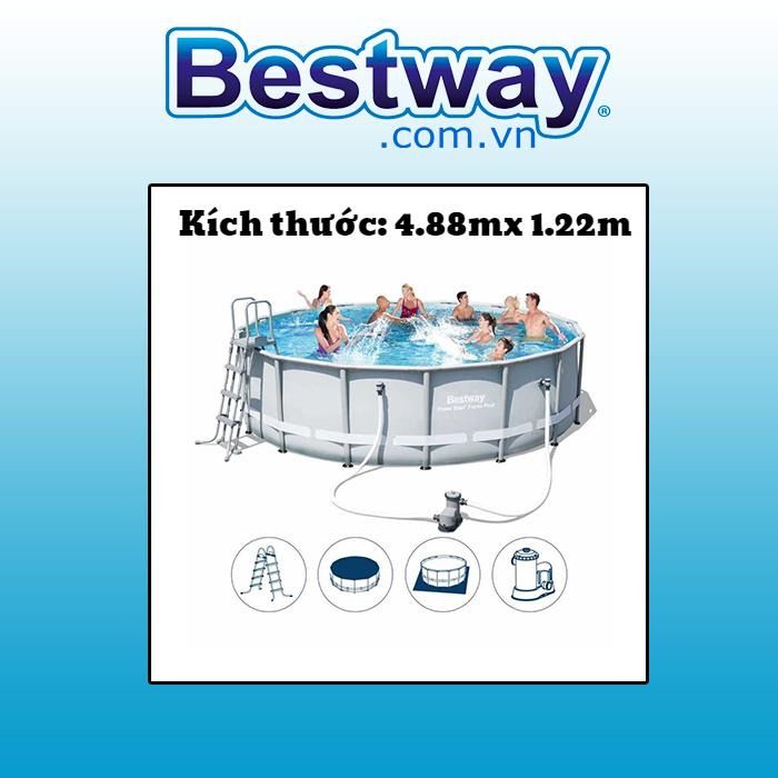 bể bơi khung kim loại Bestway 56451