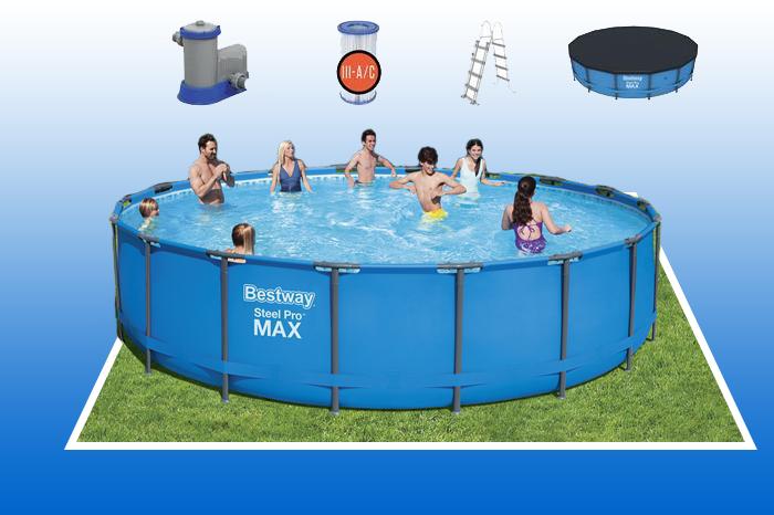 Bể bơi khung kim loại Bestway 56462