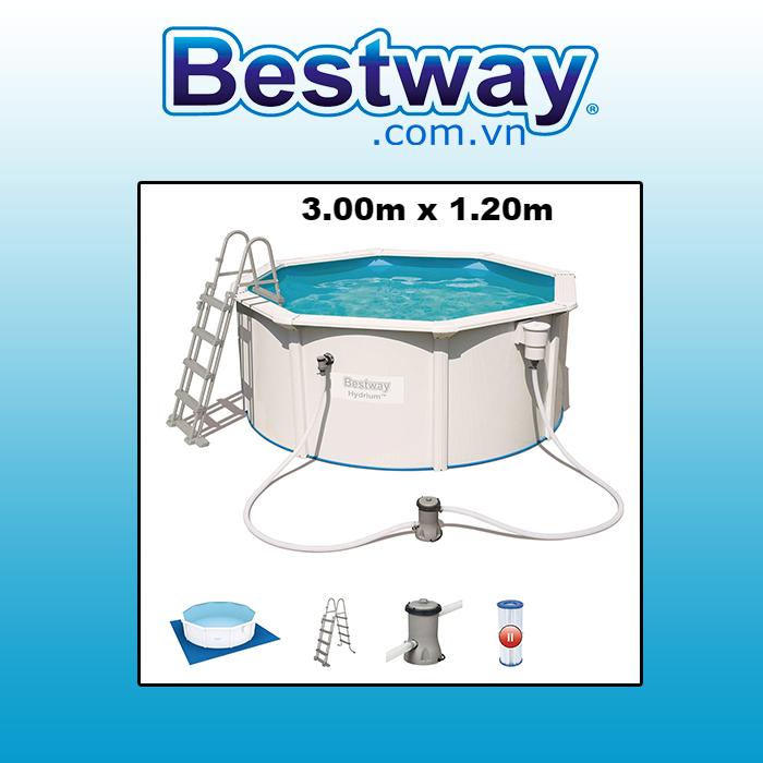 Bể bơi khung kim loại 56563