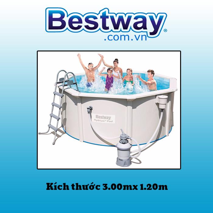 Bể bơi khung kim loại 56566