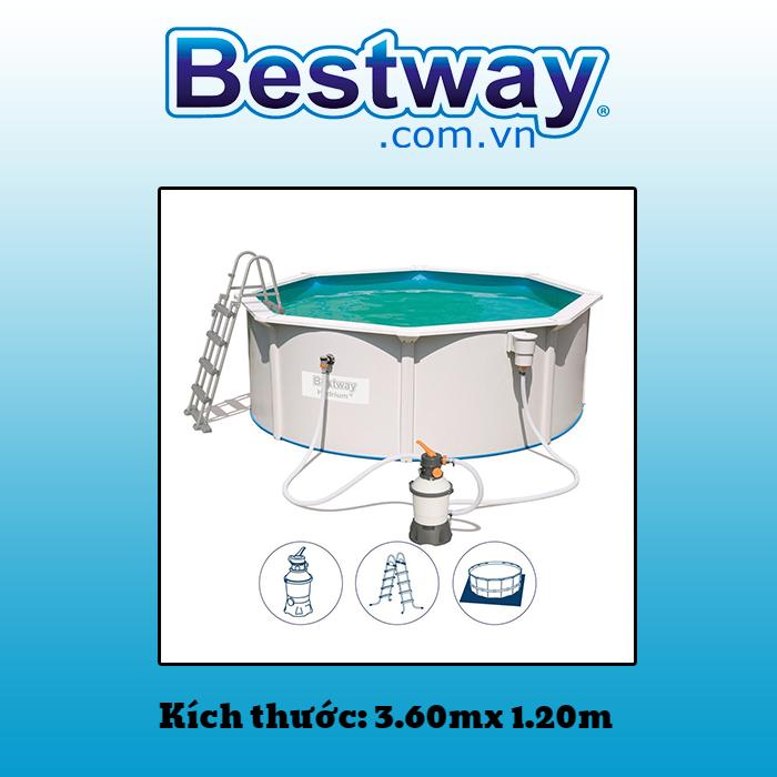 Bể bơi khung kim loại 56574