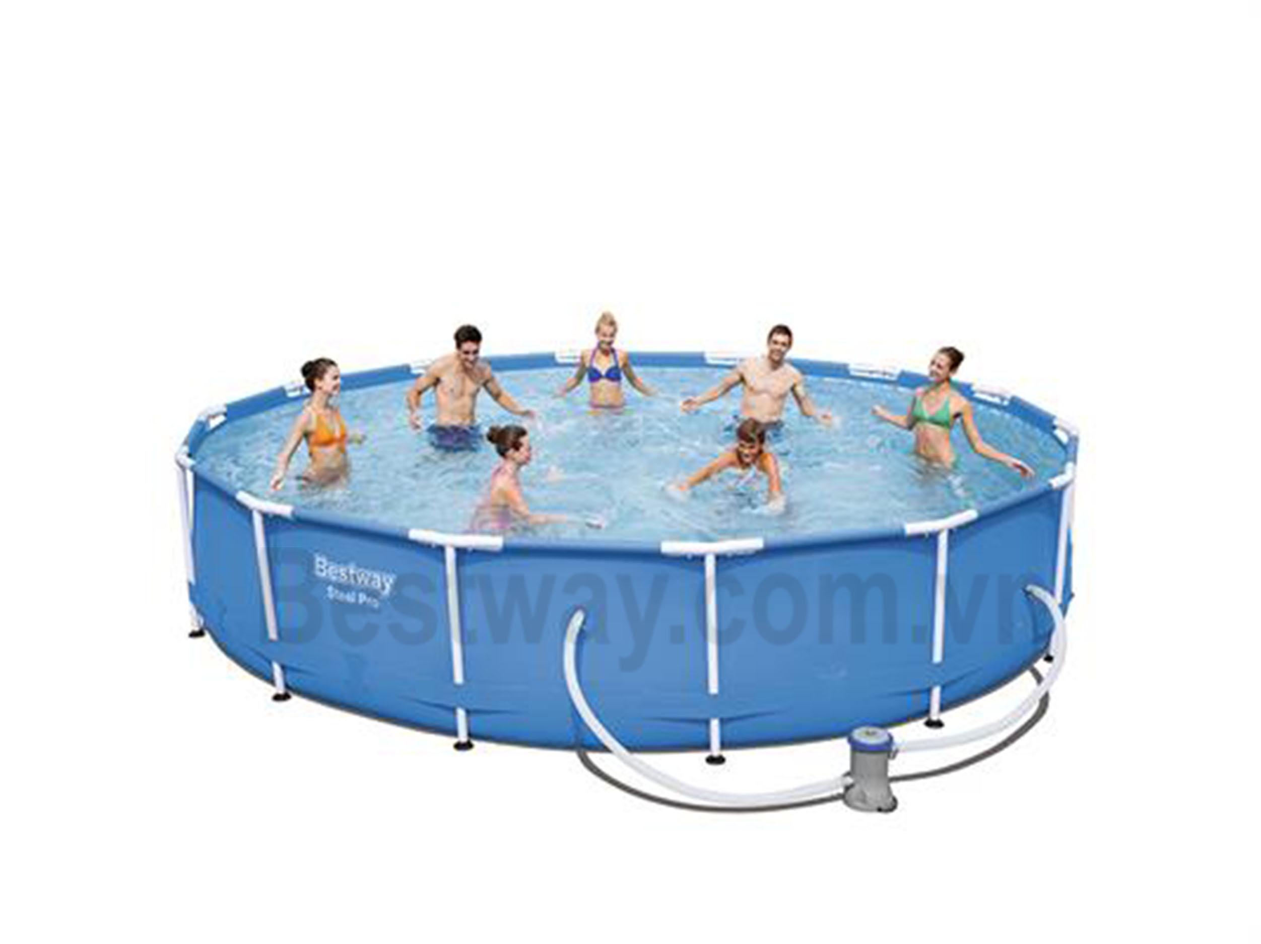 Bể bơi 4.27m x 4.27m x84cmBestway 56595