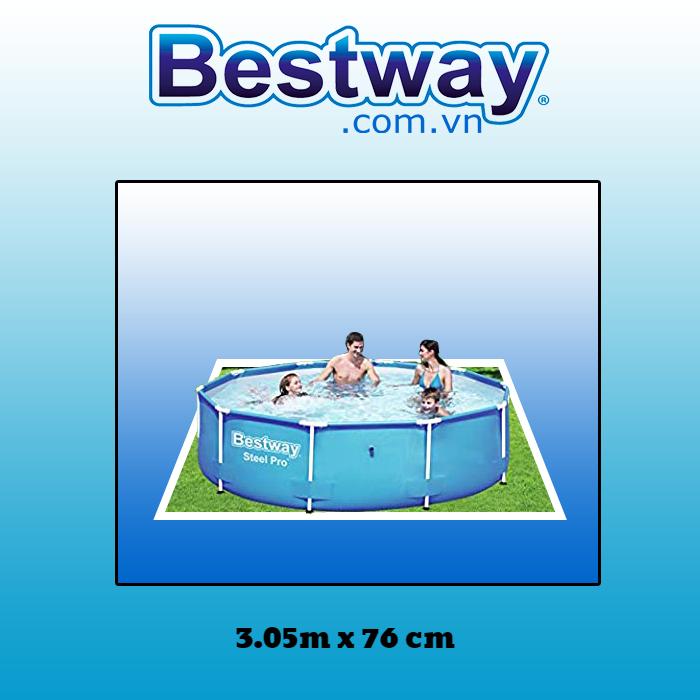 Bể bơi khung kim loại tròn Bestway 56677