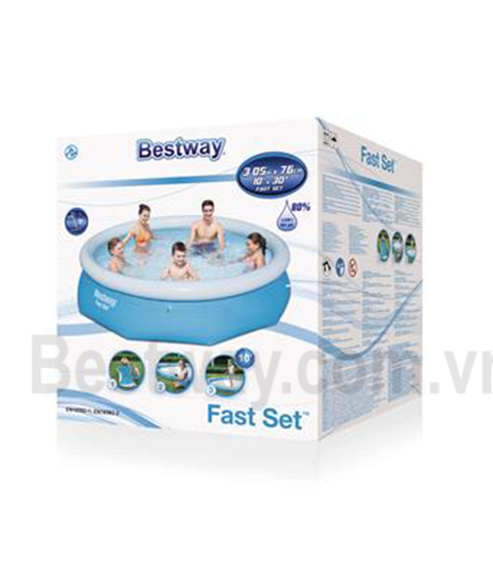 Bể bơi phao Bestway 3,05mx 76cm57266