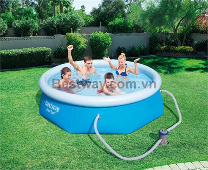 Bể tắm 2.44m x 66cm bestway 57268