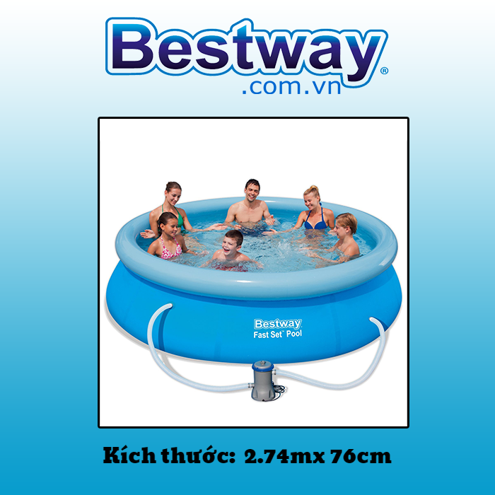 Bể bơi Bestway 2.74mx 76cm 57272
