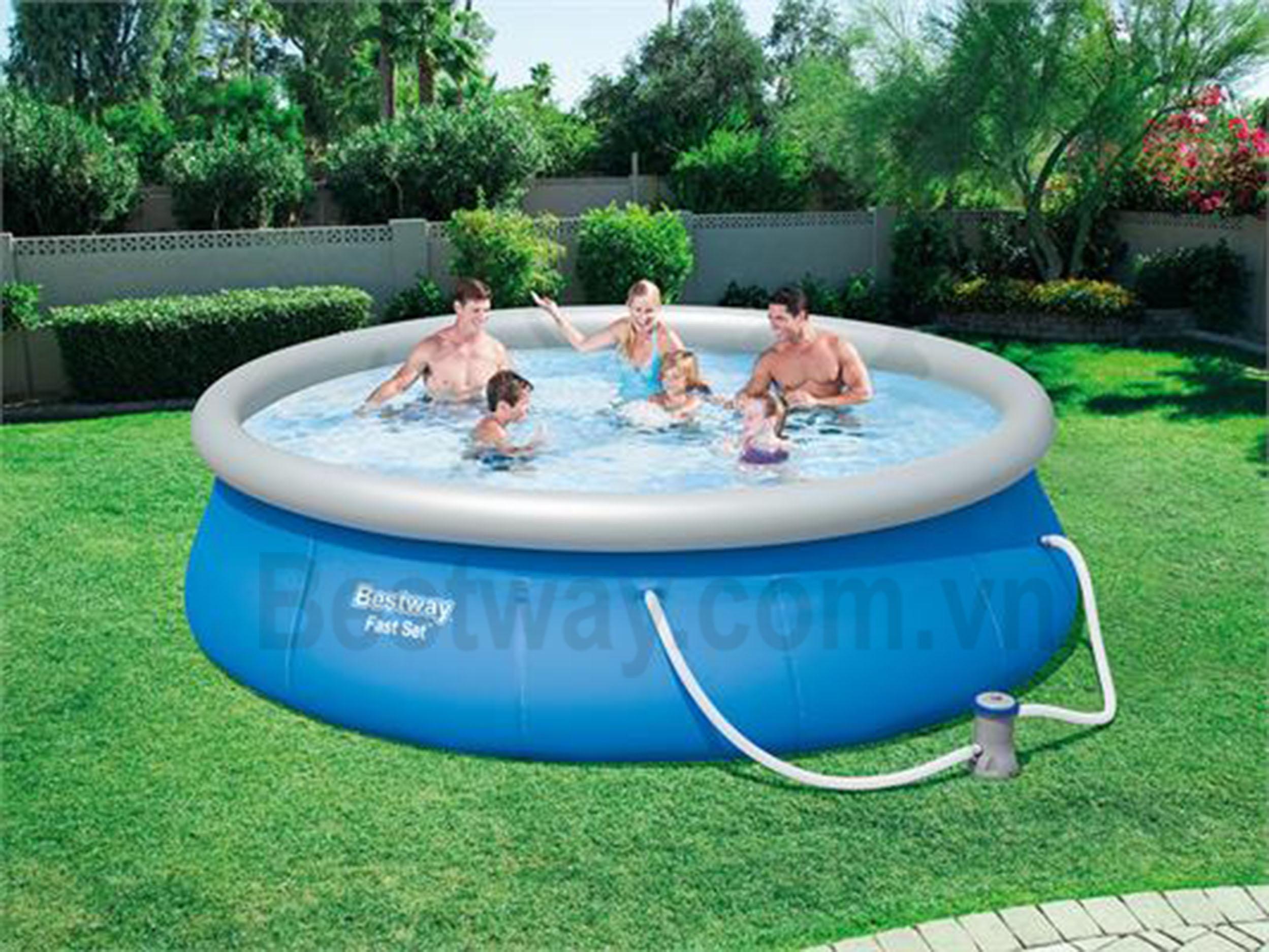 Bể bơi Bestway 3.96mx 84cm 57321