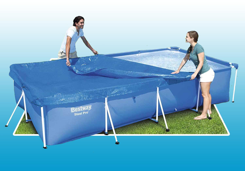 Bạt che đậy dùng cho bể bơi 58106 3.00m x 2.01m 66cm