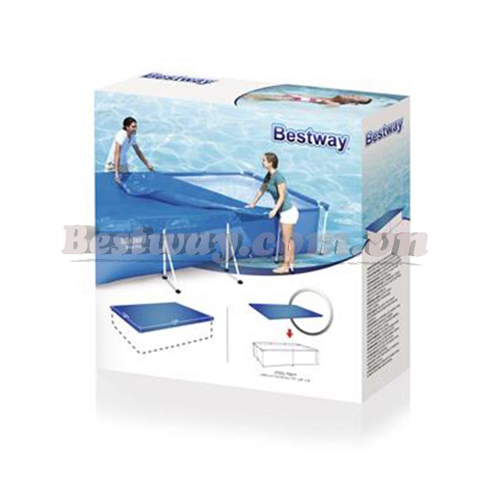 Bạt che đậy dùng cho bể bơi 58107 4.00m x 2.11m x 81cm