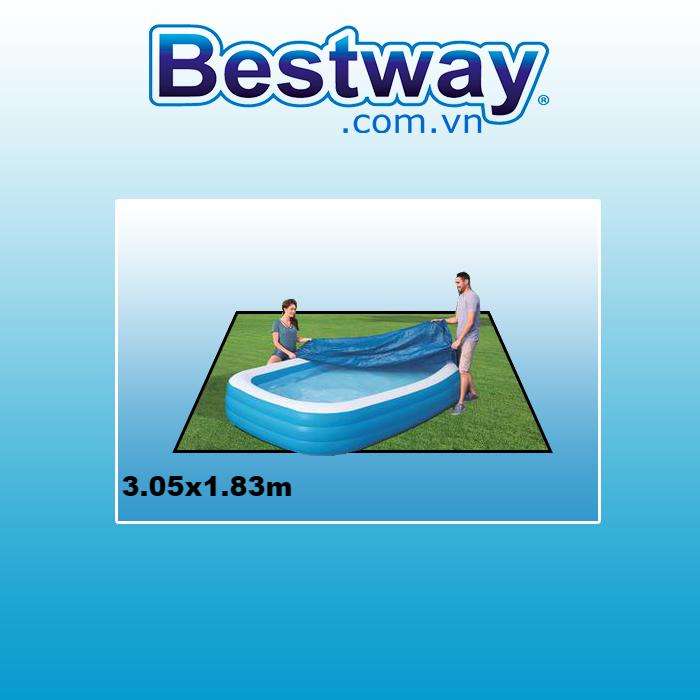 Bạt phủ bể 58108 kích thước 3.05x1.83m