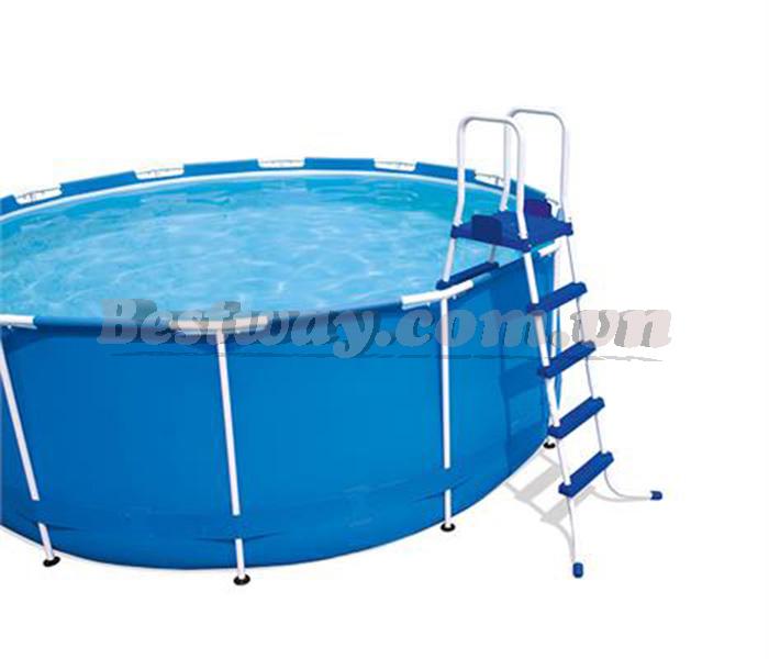 Cầu thang lên xuống bể bơi 52