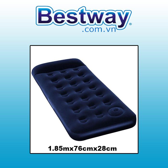 Đệm hơi Bestway 67223 1.85mx76cmx28cm (tặng bơm điện)