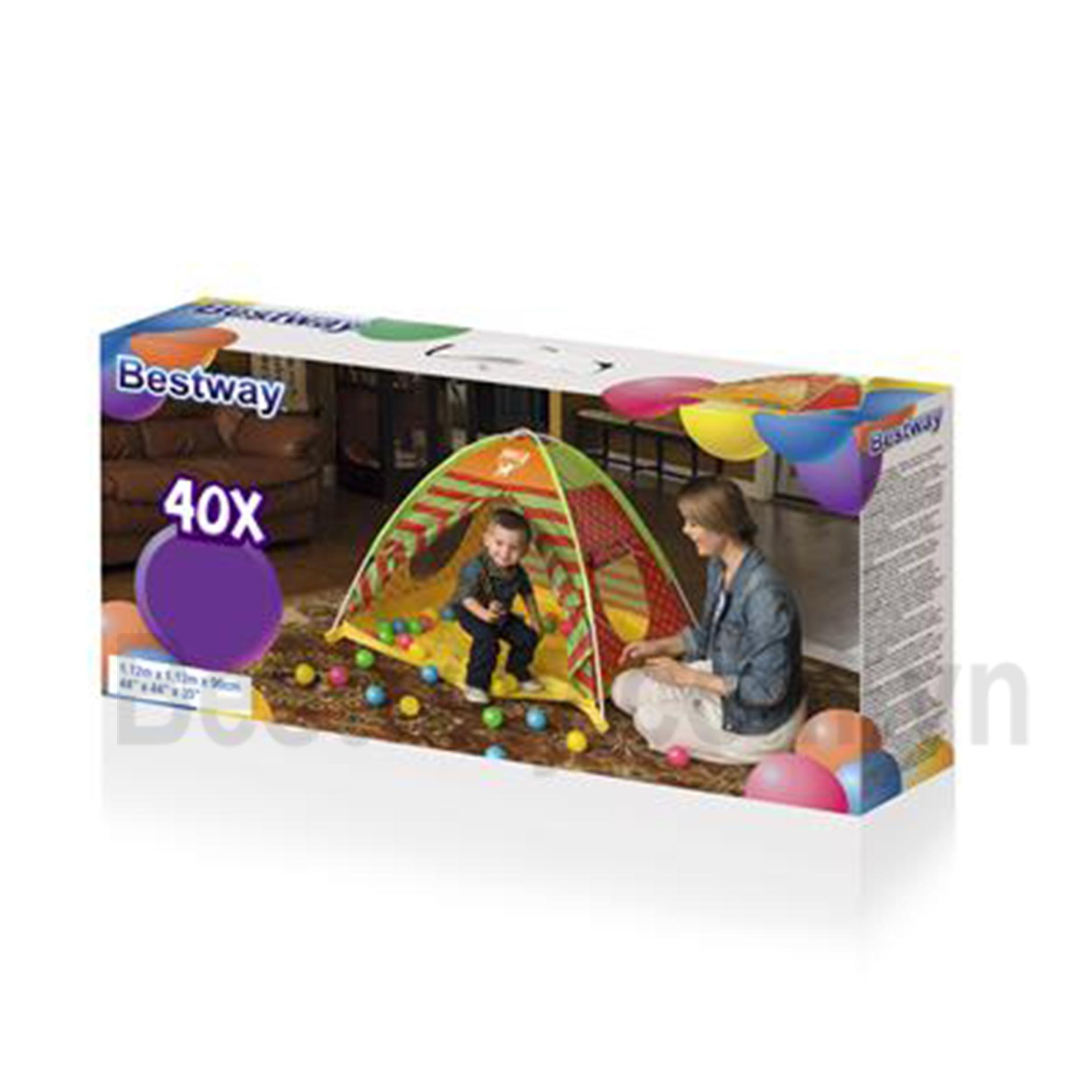 Lều trại kèm bóng (40 bóng) cho trẻ - Bestway 68080