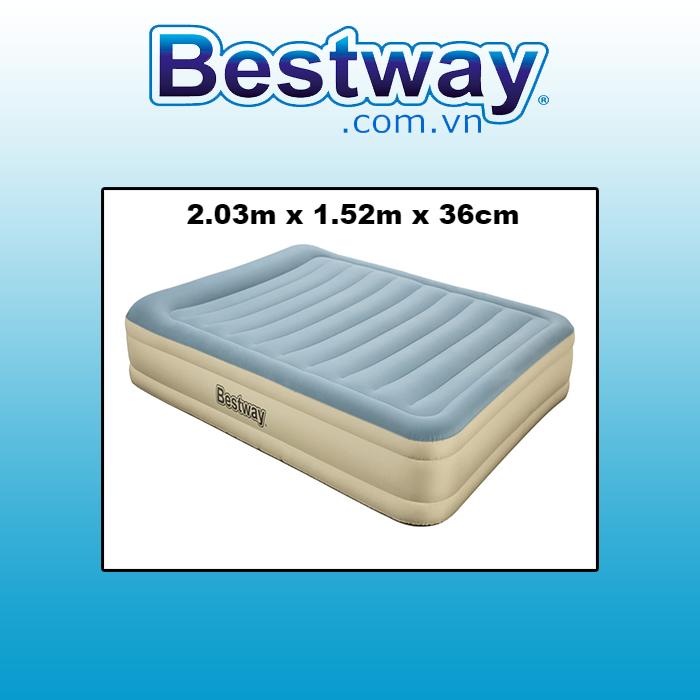 Đệm hơi Bestway  69007  2.03m x1.52cm x 36cm