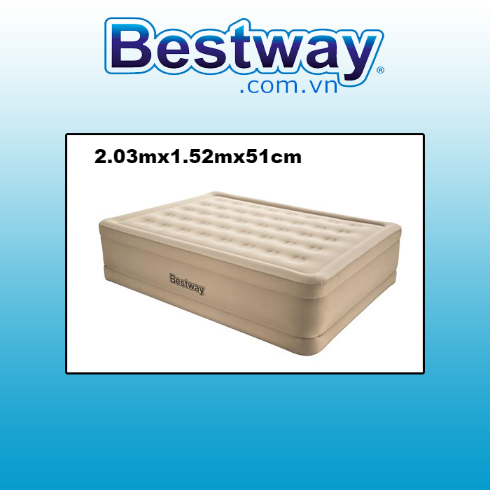 Đệm hơi Bestway 69024 - 2.03mx1.52mx51cm