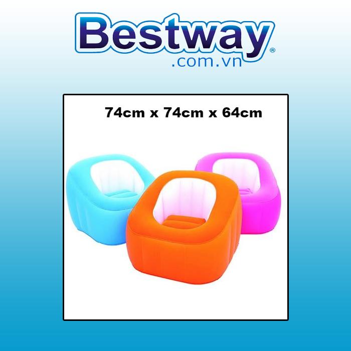 Ghế đệm - Bestway 75046  ( bao gồm bơm)