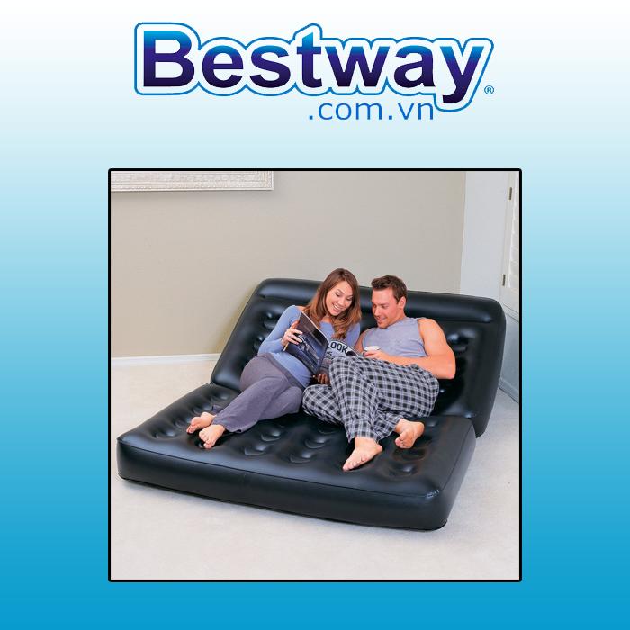 Ghế đệm đa chức năng - Bestway 75056 ( có tặng kèm bơm Bestway chính hãng và túi đeo )