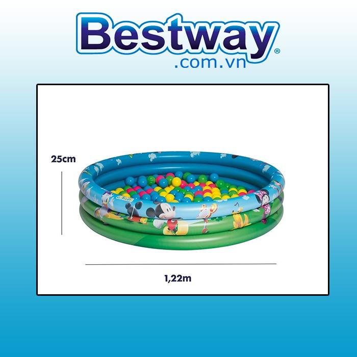 Bể phao Mickey Bestway 91028