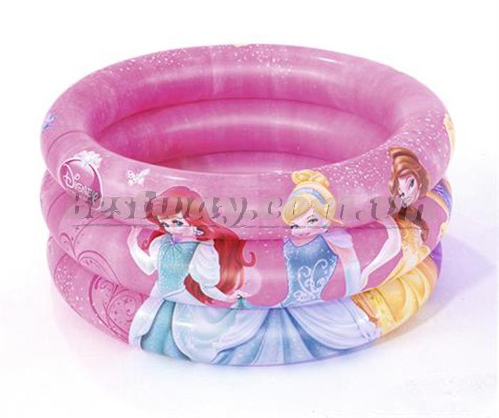 Bể phao Bestway 3 vòng Princess 70cm Bestway 91046