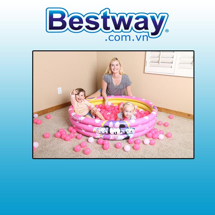 Bể phao Bestway 3 vòng 91069 (tặng bơm điện)