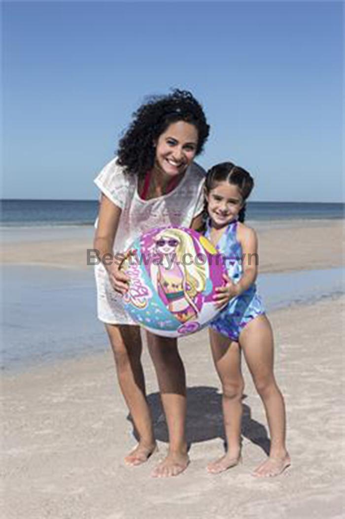 Bóng bãi biển  Bestway Barbie 51cm