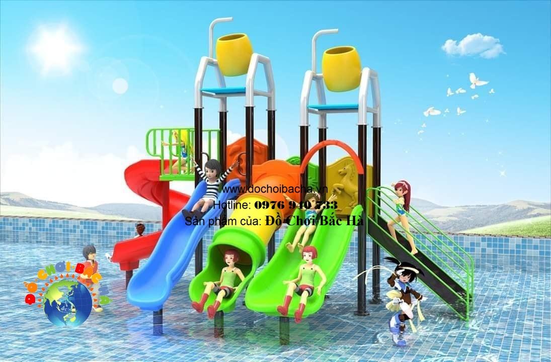 Cầu trượt bể bơi số 2