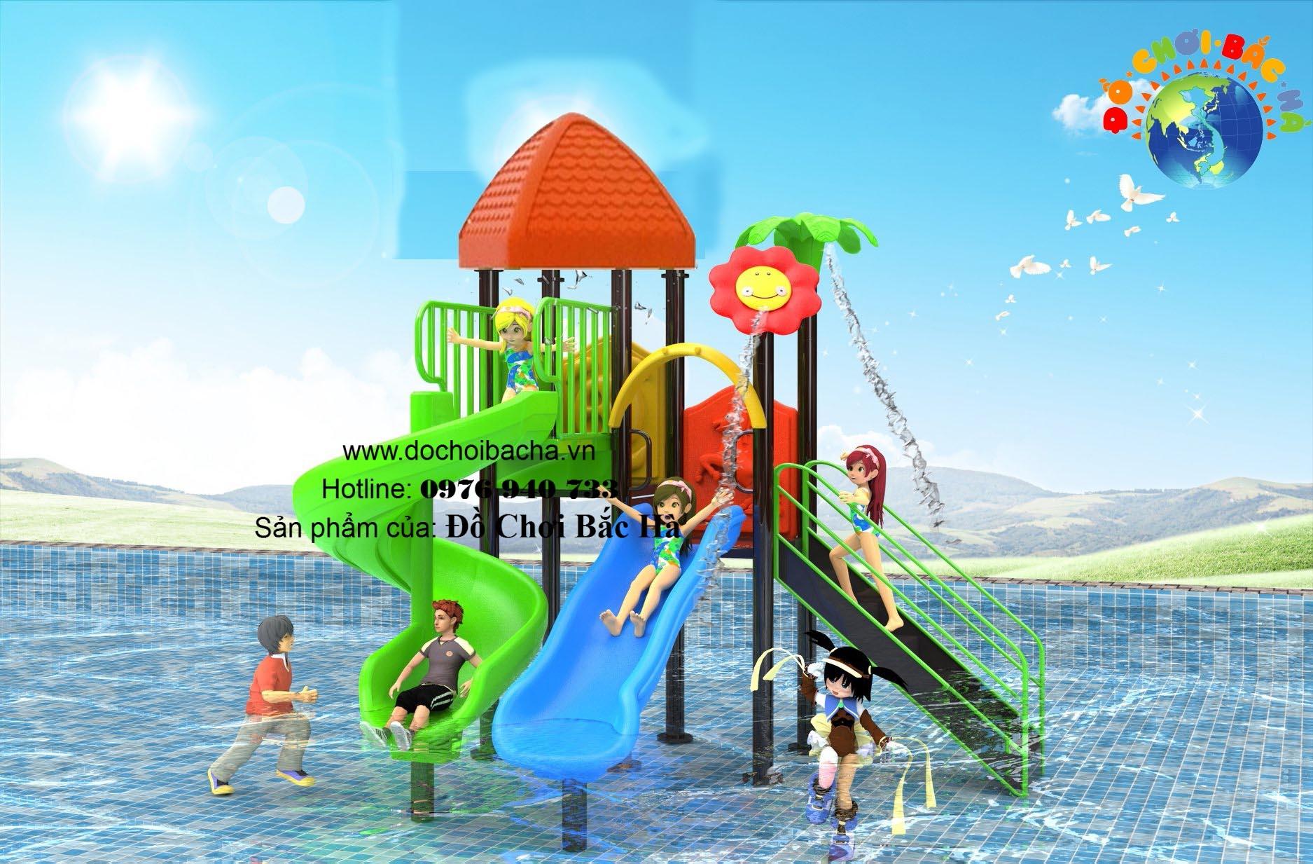 Cầu trượt bể bơi số 4