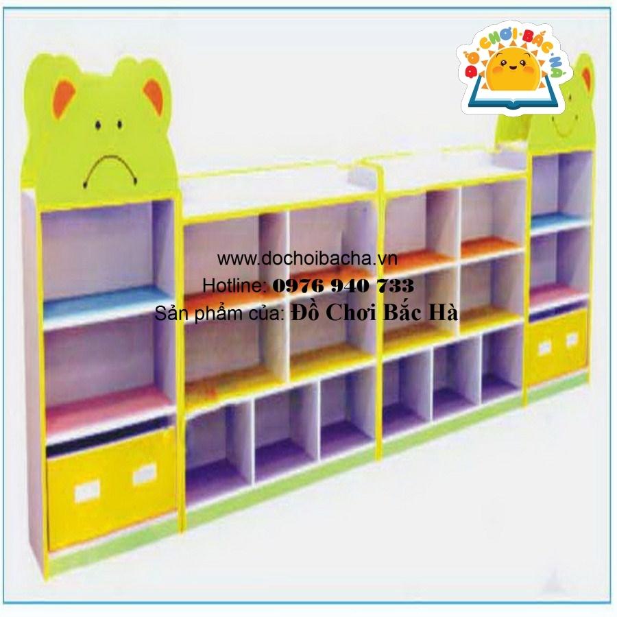 Tủ đồ chơi giá hình đầu gấu B147